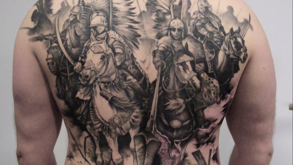 Dziary Narodowe Polska Z Tatuaży Patriotów