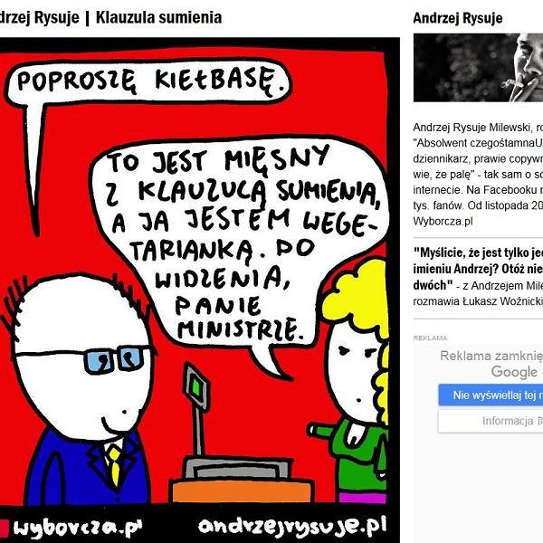 Andrzej Rysuje - Klauzula sumienia