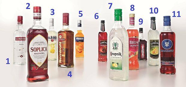 Testujemy kolorowe wódki, alkohole