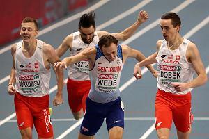 """Ogromna niespodzianka i łzy na mecie. Biało-czerwone 800 metrów. """"To była jakaś magia"""""""