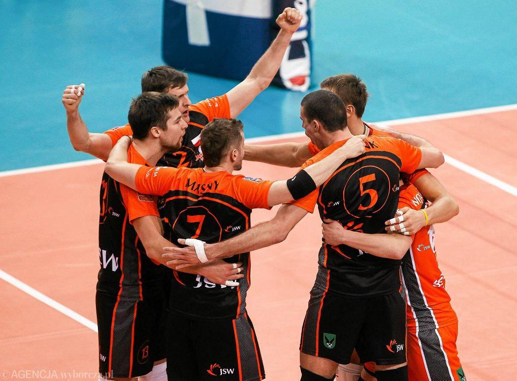 Liga Mistrzów. Asseco Resovia - Jastrzębski Węgiel 1:3