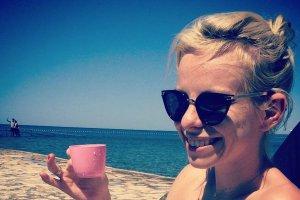 Alicja Janosz na wakacjach w Chorwacji
