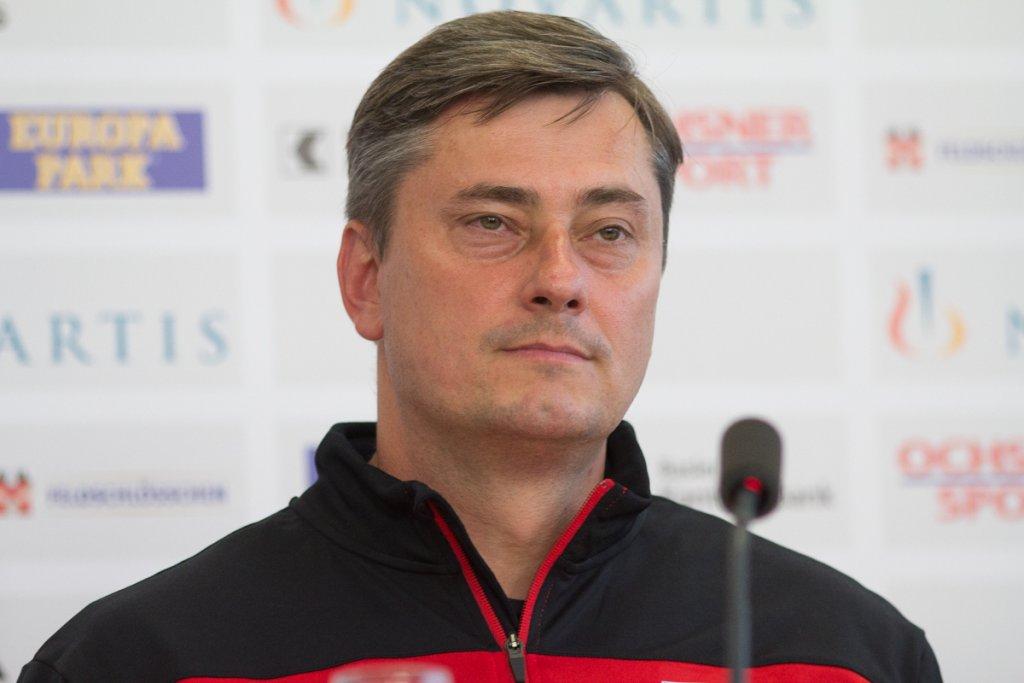 Maciej Skorża na konferencji przed meczem z FC Basel