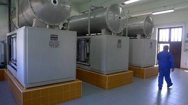 Instalacja produkcji ozonu w stacji uzdatniania wody Wodociągów Płockich