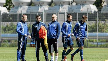 Piotr Rzepka (na zdjęciu w środku)