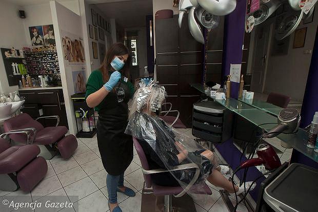 Nowe restrykcje mogą uderzyć w salony fryzjerskie i kosmetyczne