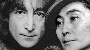 John Lennon i jego żona Yoko Ono, 1980
