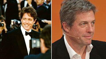 Hugh Grant w 1997 i 2014 roku