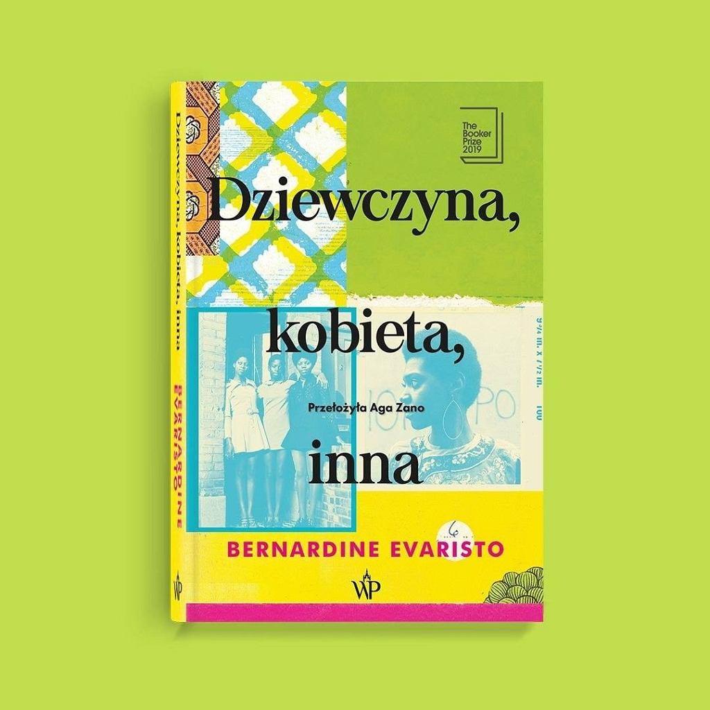 Okładka książki 'Dziewczyna, kobieta, inna', Bernardine Evaristo