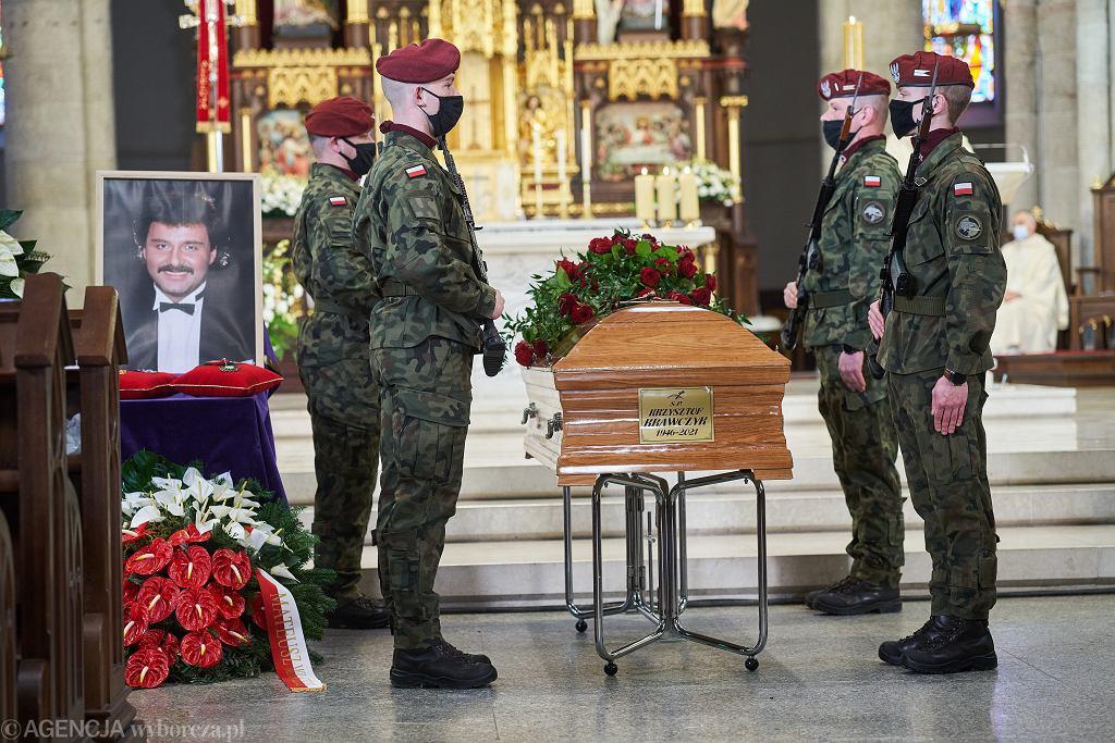 Krzysztof Krawczyk - pogrzeb