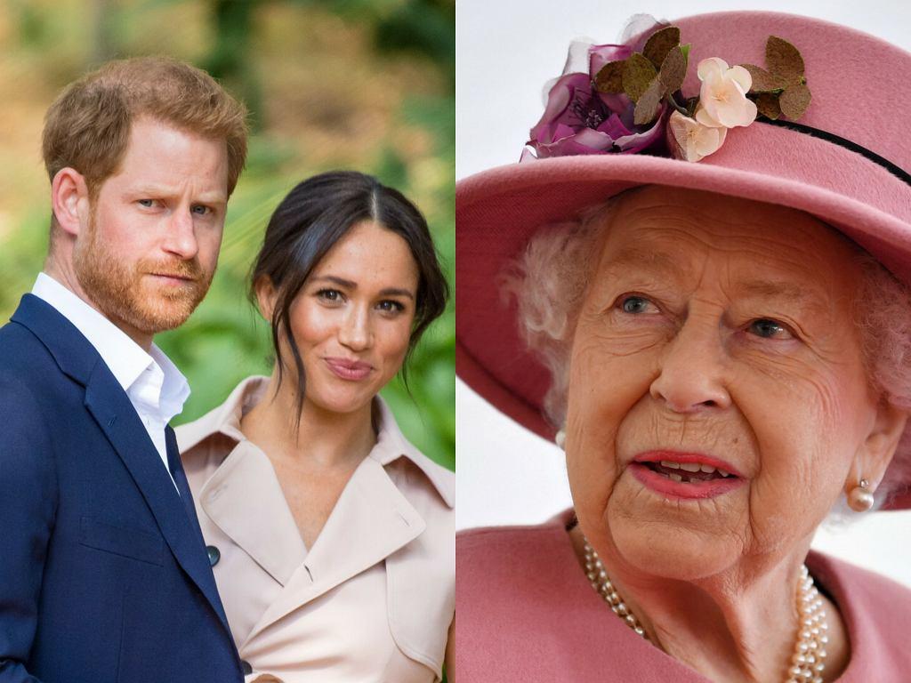 Co Meghan Markle i książę Harry podarowali królowej Elżbiecie II?