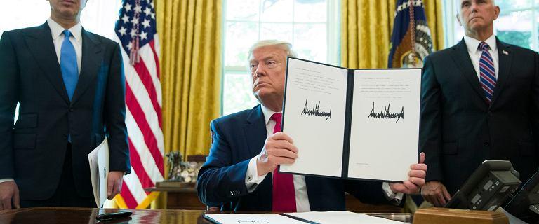 Trump nałożył nowe sankcje na Iran. Uderzają w ajatollaha Chameneiego