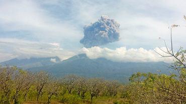 Wulkan w Indonezji