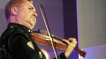 Koncert Nigela Kennedy'ego w sali koncertowej Państwowej Szkoły Muzycznej