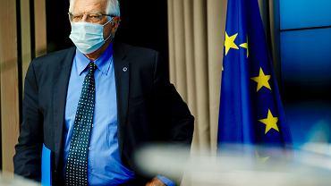 Szef unijnej dyplomacji Josep Borrell, 10 maja 2021 r.