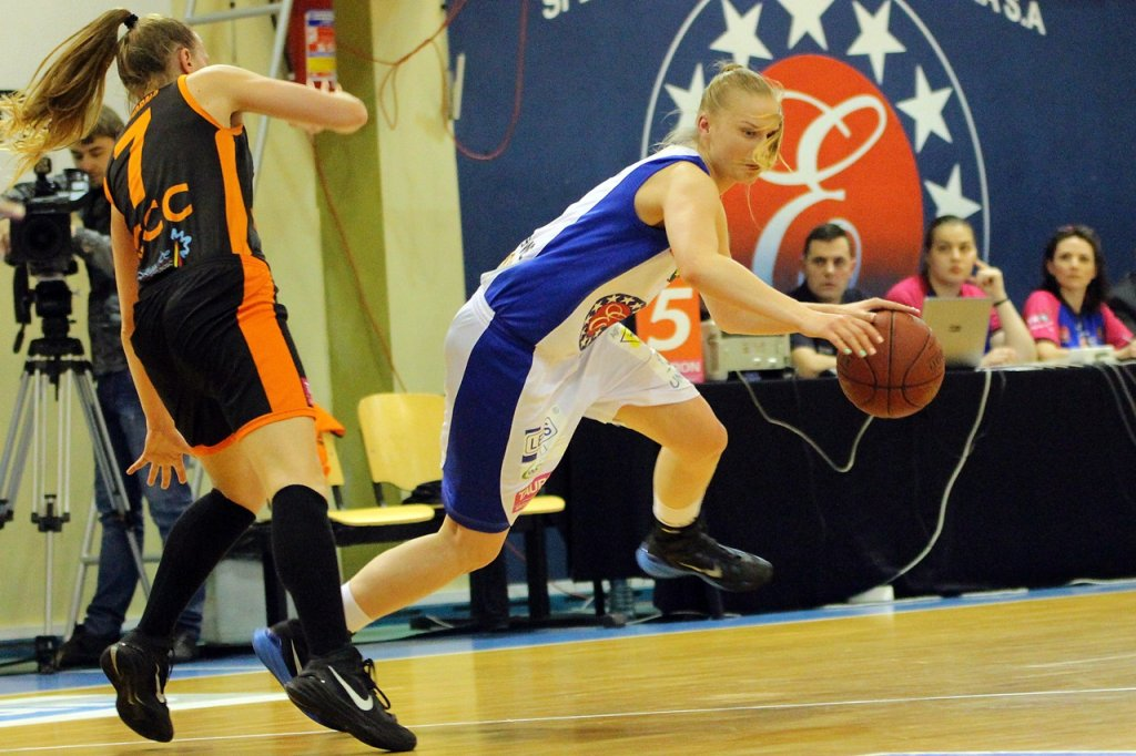 Koszykarki KSSSE AZS PWSZ Gorzów przegrywają z CCC Polkowice 36:61 i kończą sezon ligowy