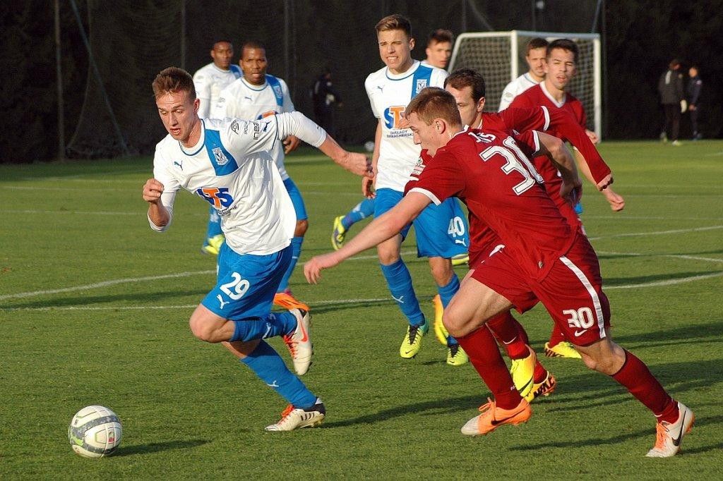 Lech Poznań - Sparta Praga 2:1 w sparingu w Montecastillo. Szymon Zgarda