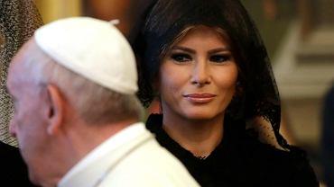 Melania Trump na audiencji u papieża Franciszka