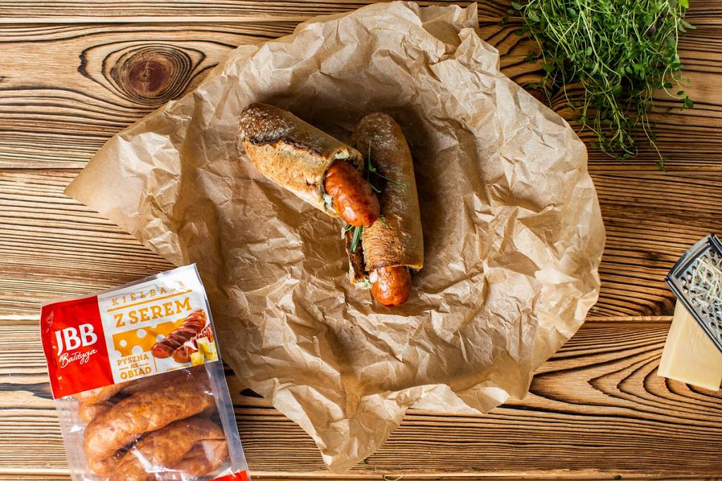 Grillowy hot dog
