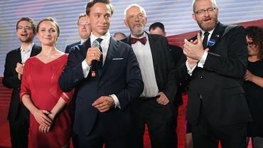 Wieczór wyborczy kandydata na prezydenta RP Krzysztofa Bosaka.