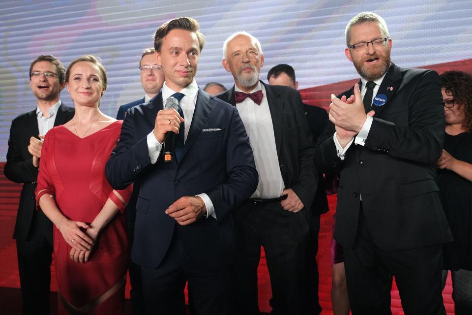 Krzysztof Bosak, Janusz Korwin-Mikke, Grzegorz Braun