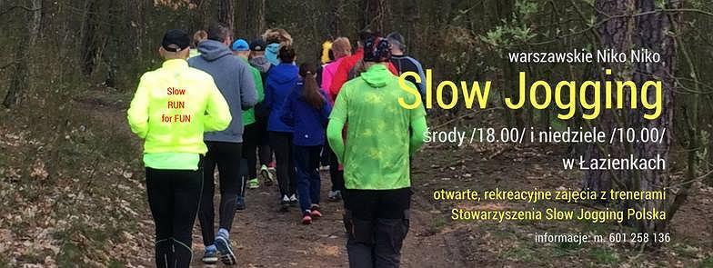 Bezpłatne zajęcia Slow Joggigngu