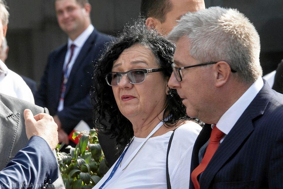 Anna Morawiecka i europoseł PiS Ryszard Czarnecki