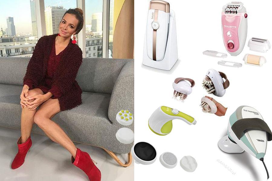 Kolaż, urządzenia do pielęgnacji nóg/Materiały partnera