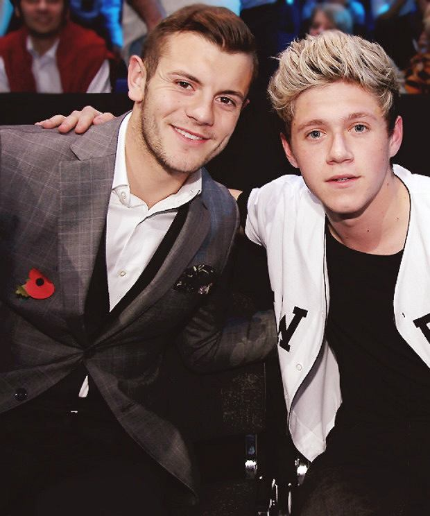Jack Wilshere i Niall Horan z One Direction