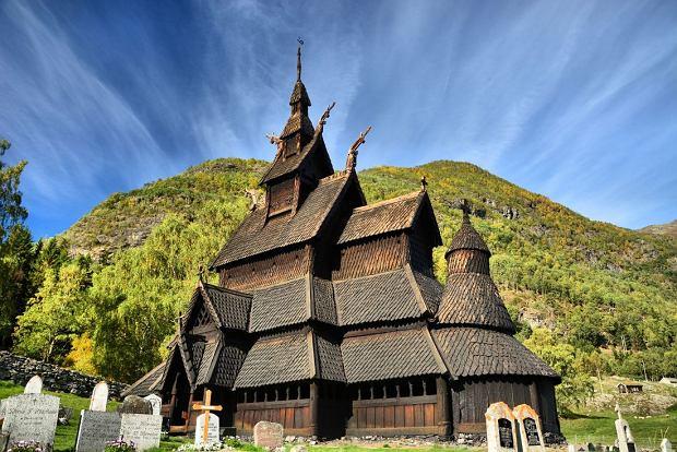 Kościół stavkirke w Borgund