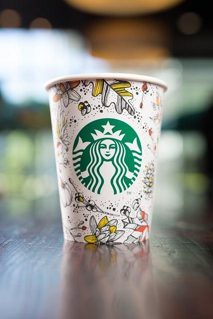 Starbucks Jesienne kubki