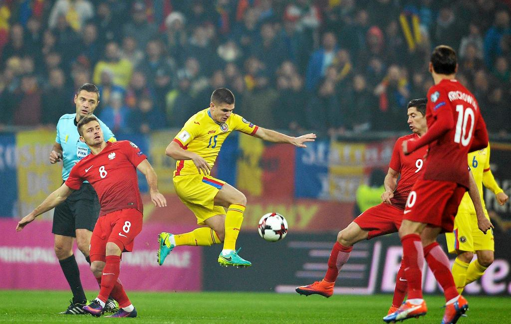 Rumunia - Polska 0:3 w el. MŚ 2018