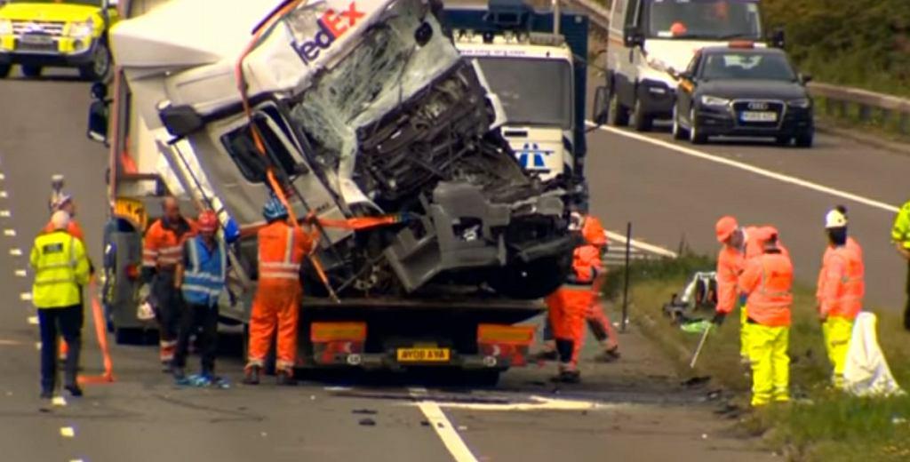 Polski kierowca miał spowodować wypadek, w którym zginęło 8 osób