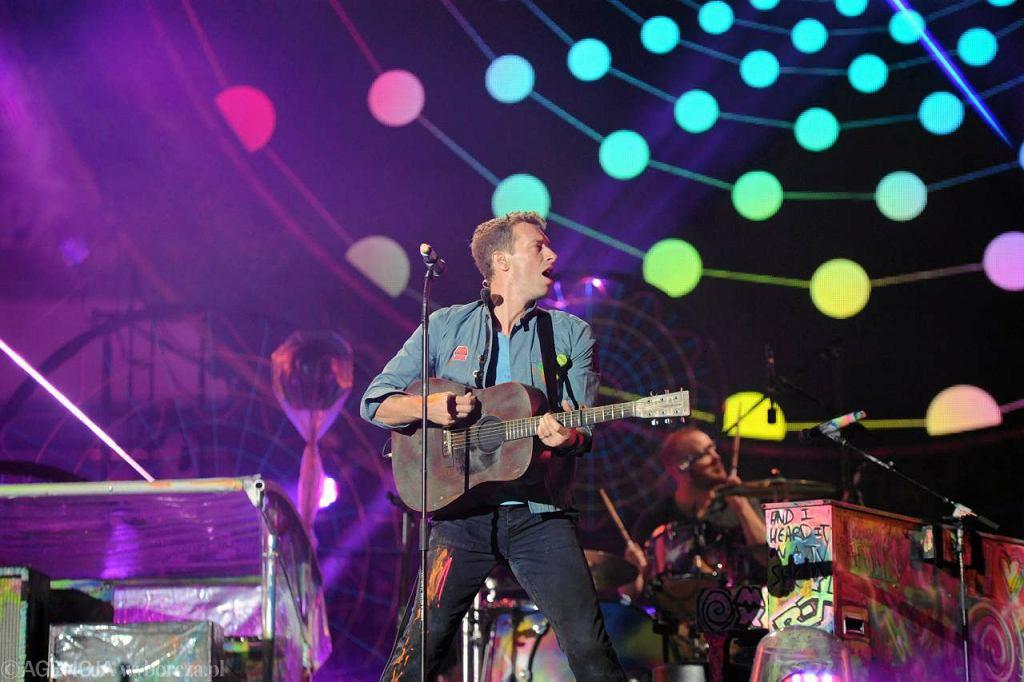 Koncert Coldplaya na Stadionie Narodowym