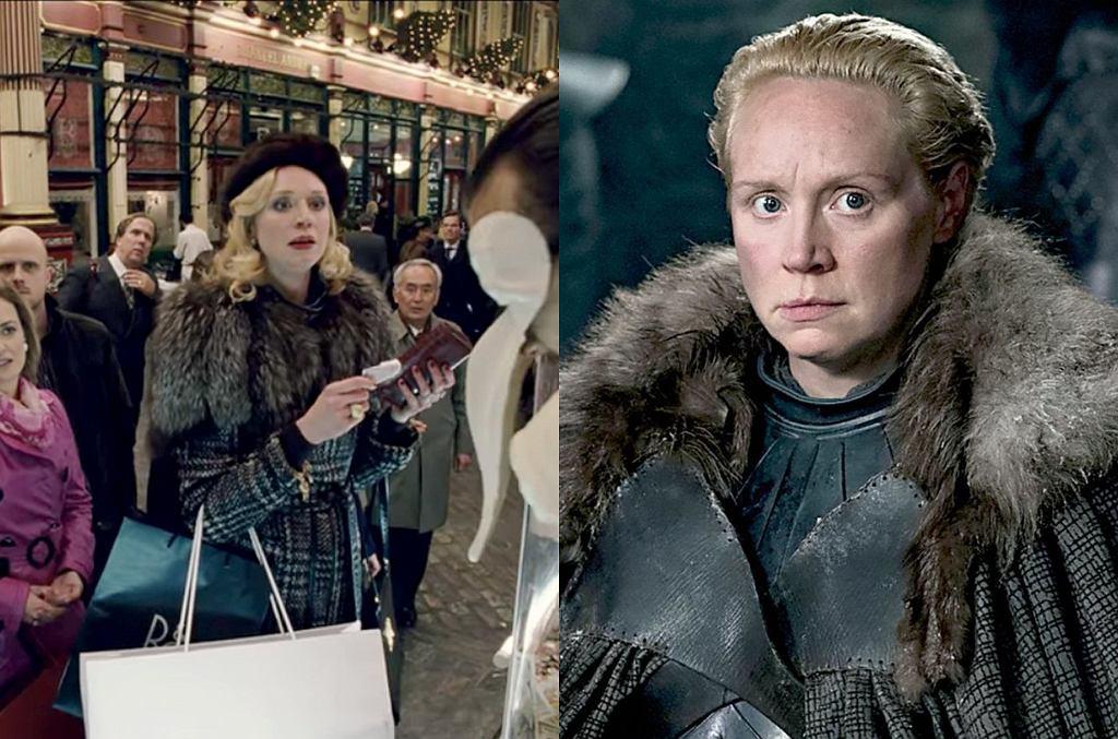 Gwendoline Christie w 'Parnassusie' i 'Grze o tron'