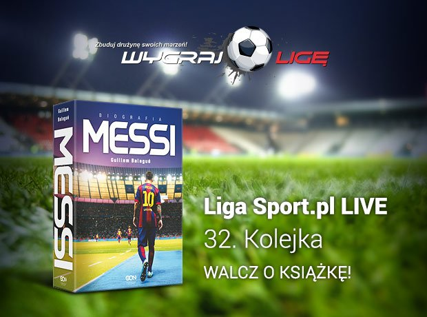 Lionel Messi. Biografia - książka do wygrania w 32. kolejce Ekstraklasy