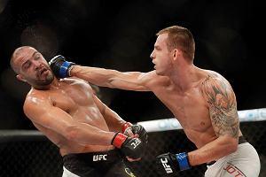 UFC. Jotko padł na matę, sędzia szybko zareagował. Wieczorek efektownie zapisał się w historii!