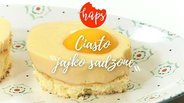 Haps ciasto jajko sadzone
