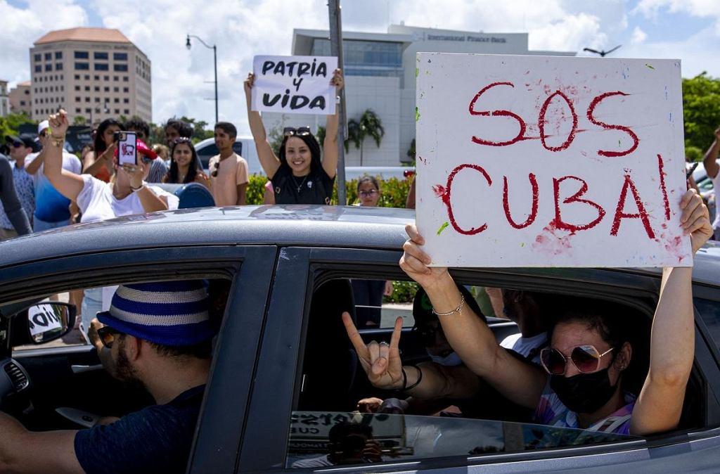 W kilku miastach Kuby doszło do antyrządowych demonstracji. Kubańskie władze oskarżyły Stany Zjednoczone o ich wywołanie.