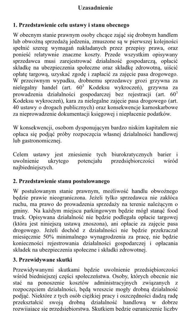 Projekt ustawy