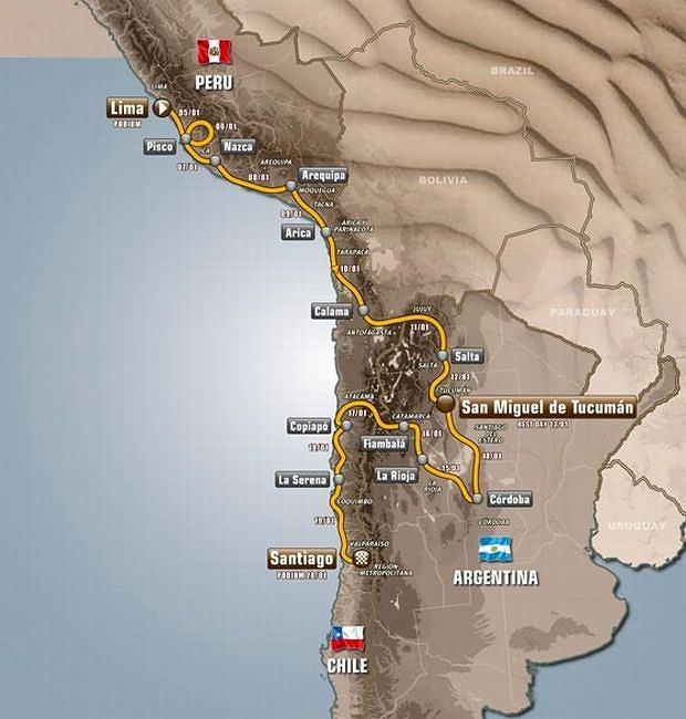 Trasa 35. edycji rajdu Dakar, Wypadek Hołowczyca: relacja naocznego świadka, samochody, Boże, oby tylko ich nie zmiażdżyli!