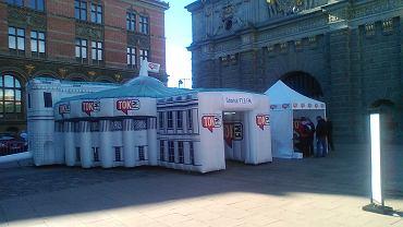 Sejm stanął na Targu Węglowym w Gdańsku.