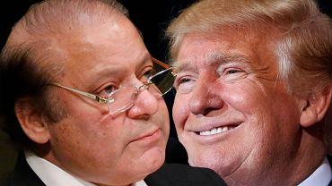 Nawaz Sharif zadzwonił do Donalda Trumpa