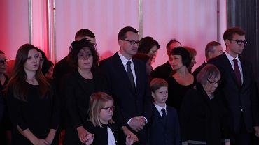 Uroczystości pogrzebowe marszałka seniora Kornela Morawieckiego w Warszawie