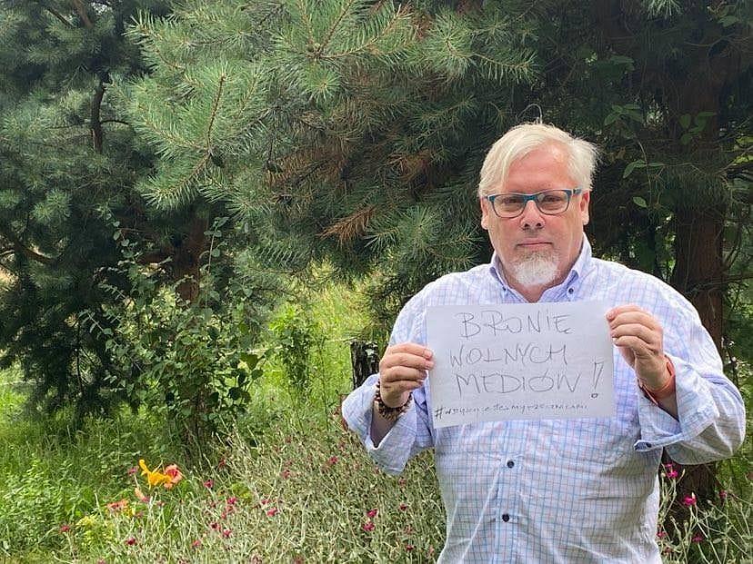 Szef KOD Kuba Karyś w kampanii Wszyscy jesteśmy rzecznikami
