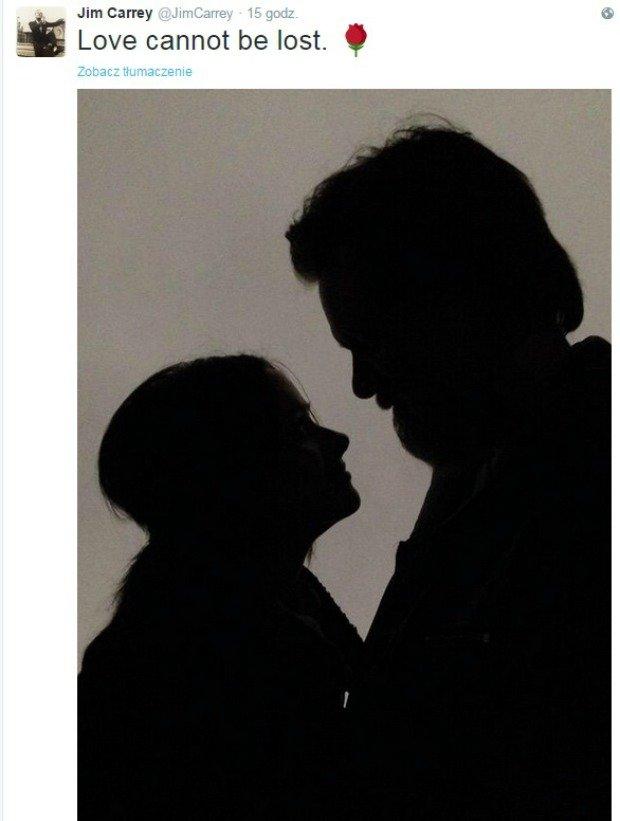 Zdjęcie z Twittera Jim'a Carrey'a