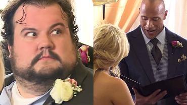Dwayne Johnson udzielił ślubu swojemu fanowi