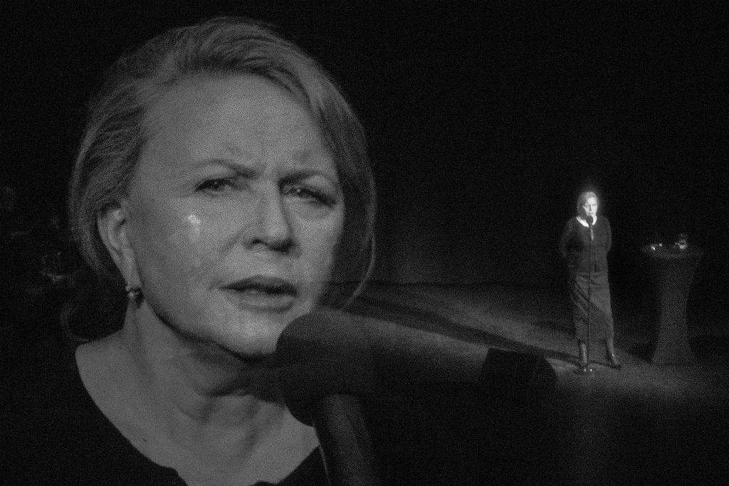 Krystyna Janda w 'Zapiskach z wygnania' - tym spektaklem do grania wróci jej Teatr Polonia / KATARZYNA KURAL-SADOWSKA