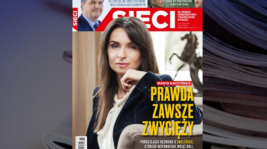 Marta Kaczyńska w 'Sieci' m.in. o Smoleńsku