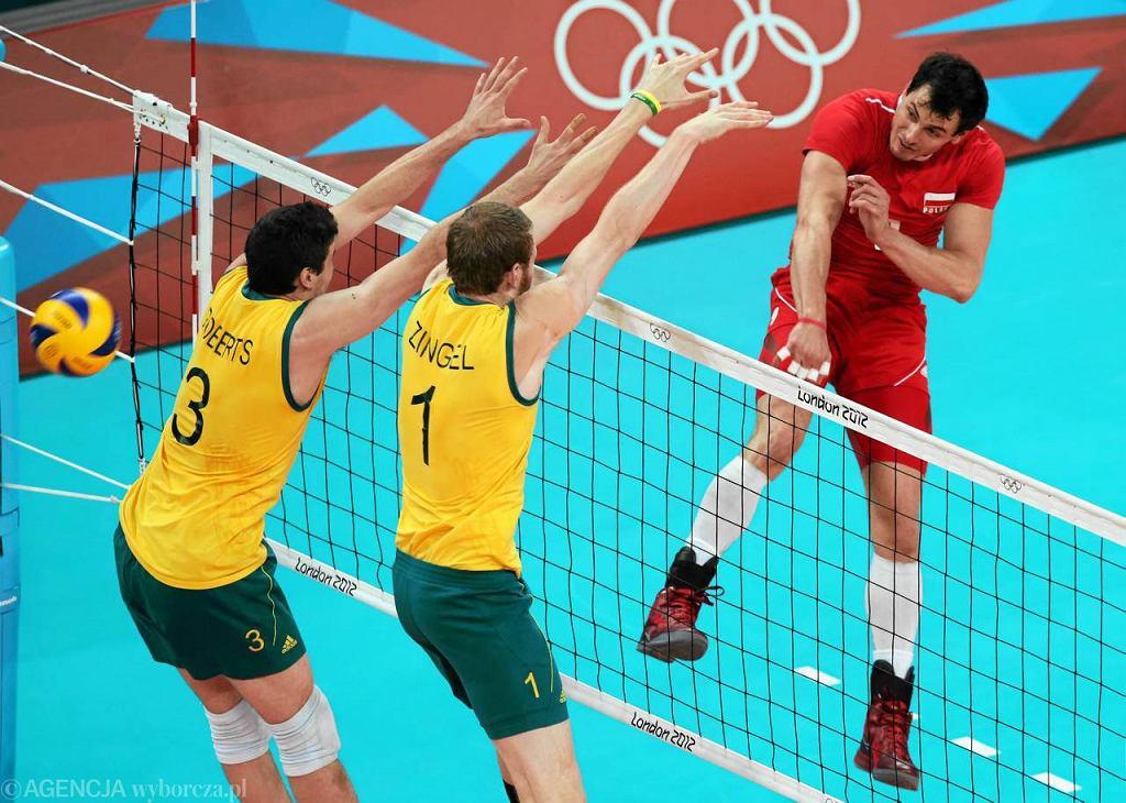 Australia - Polska 3:1. Atakuje Zbigniew Bartman